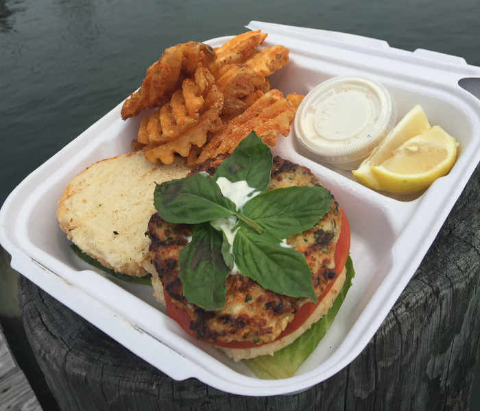 Dockhouse: Thai Shrimp Burger